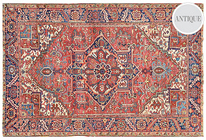 Antique Rug by Matt Camron